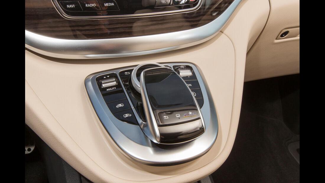 Mercedes V 250 Bluetec, Schalthebel
