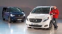 Mercedes V 250 Bluetec, VW T5, Frontansicht