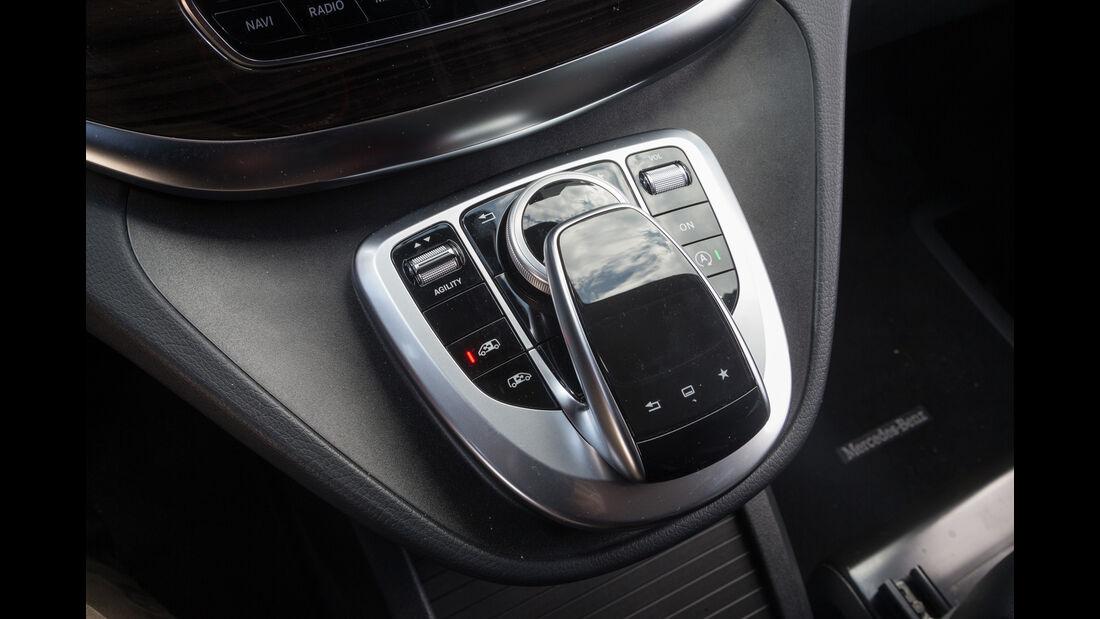 Mercedes V 250 d 4Matic lang, Bedienelemente