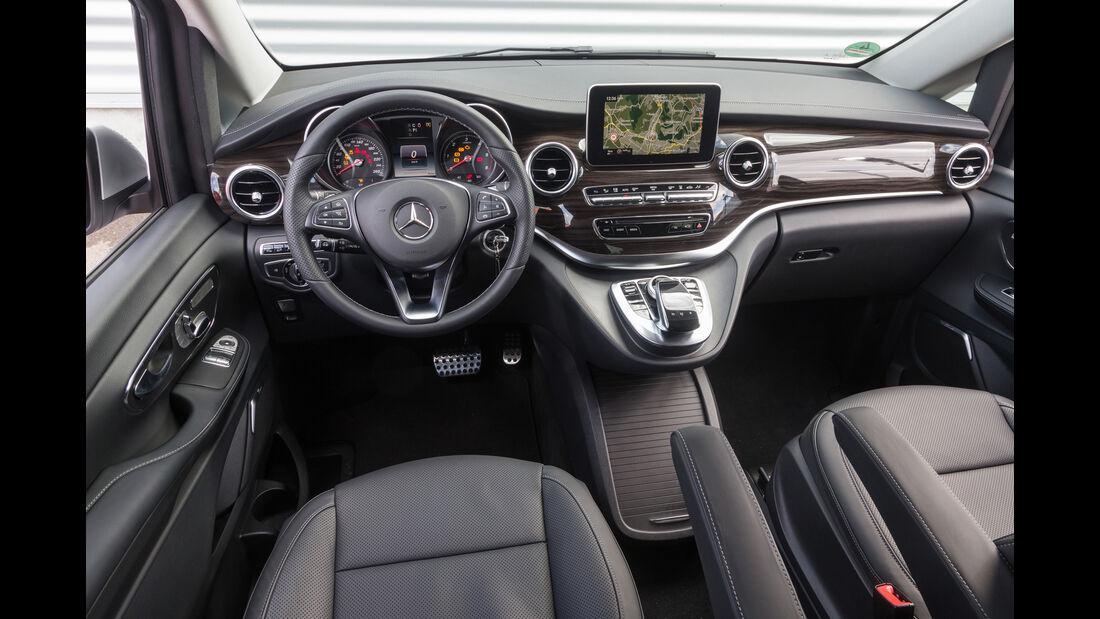 Mercedes V 250 d 4Matic lang, Cockpit