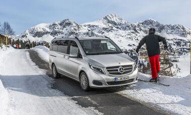 Mercedes V 250 d, Exterieur, Front