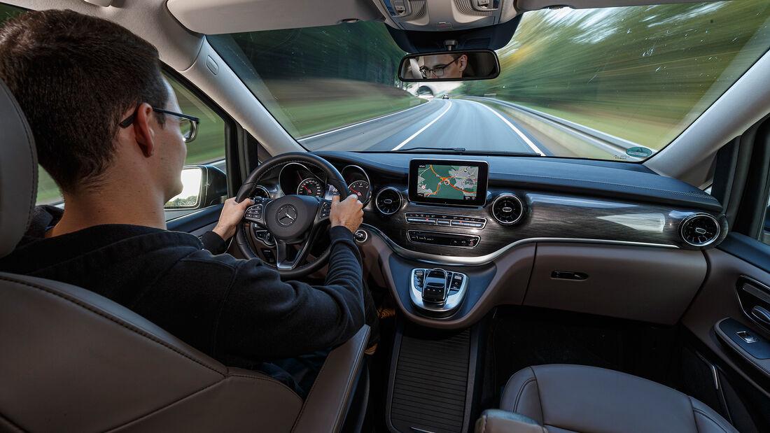 Mercedes V 300 d LANG, Interieur