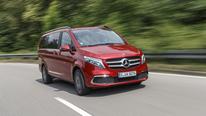 Mercedes V 300 d Lang Avantgarde Edition, Exterieur