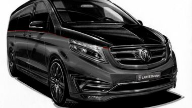 "Mercedes V-Klasse ""Black Crystal"" von Larte Design"