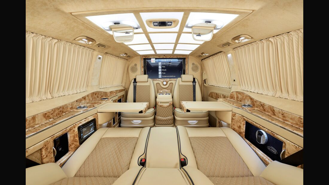 """Mercedes V-Klasse """"Black Crystal"""" von Larte Design"""