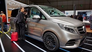 Mercedes V-Klasse Concept V-ision e auf dem Autosalon Genf