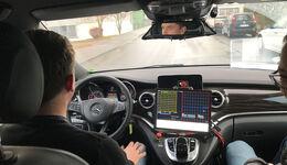 Mercedes V-Klasse DAVOS autonomes Fahren 2016