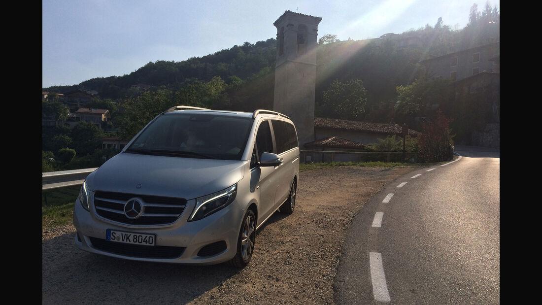 Mercedes V-Klasse Dauertest