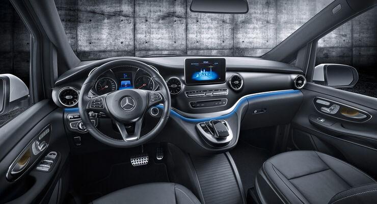Mercedes V-Klasse Facelift 2019