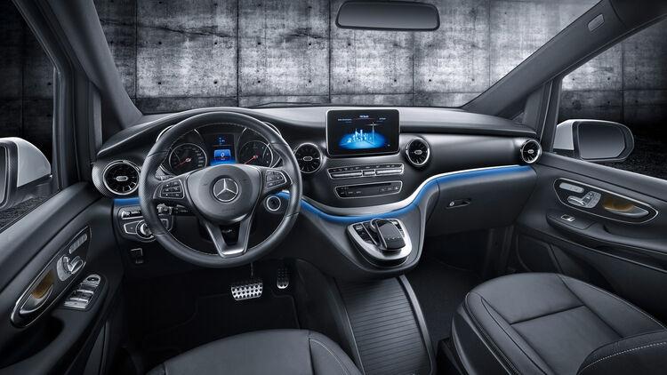 Mercedes V Klasse 2019 Schnell Wie Ein Fiat Abarth 500