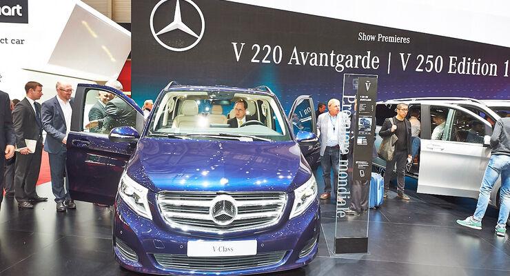 Mercedes V-Klasse , Genfer Autosalon, Messe, 2014