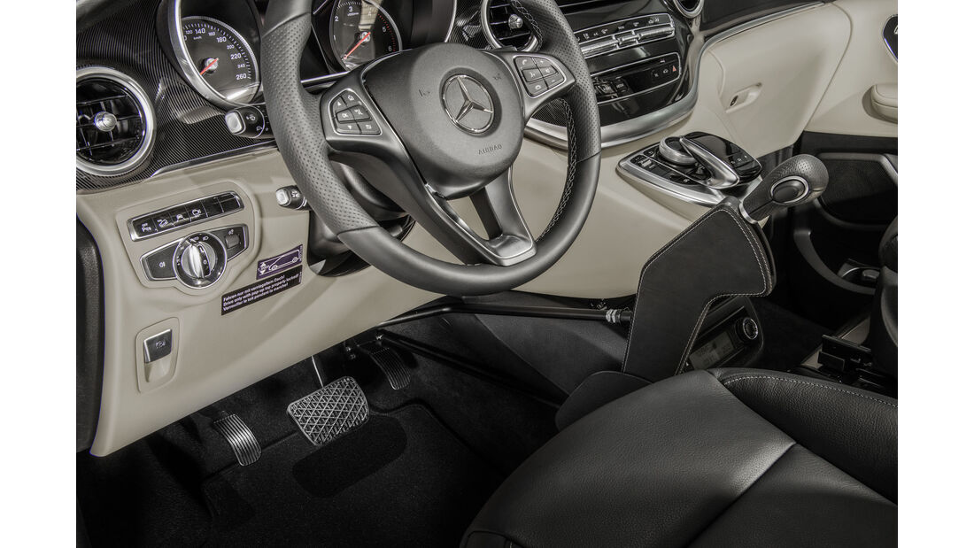 Mercedes V-Klasse, Marco Polo, AMG Line, CMT 2016