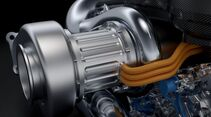Mercedes V& Turbo Motor 2014