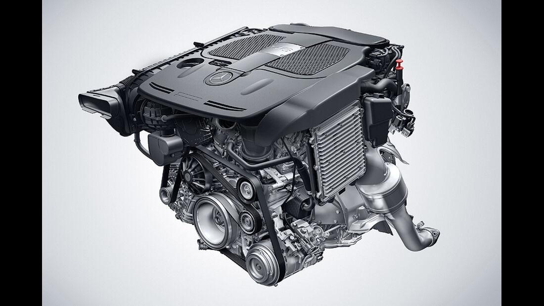 Mercedes V6 Motor