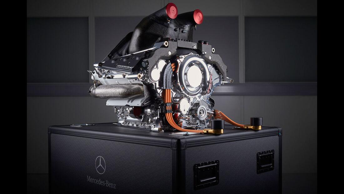 Mercedes V6 - Turbo - Motor - F1