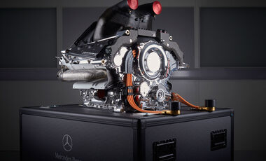 Mercedes V6 - Turbo - Motor - F1
