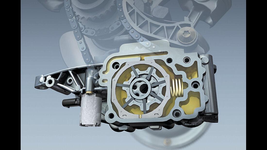 Mercedes V6- und V8-MOVE-Motoren