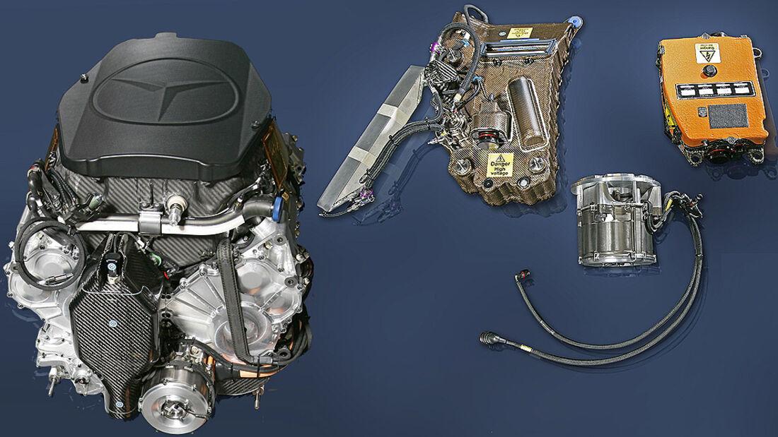 Mercedes V8