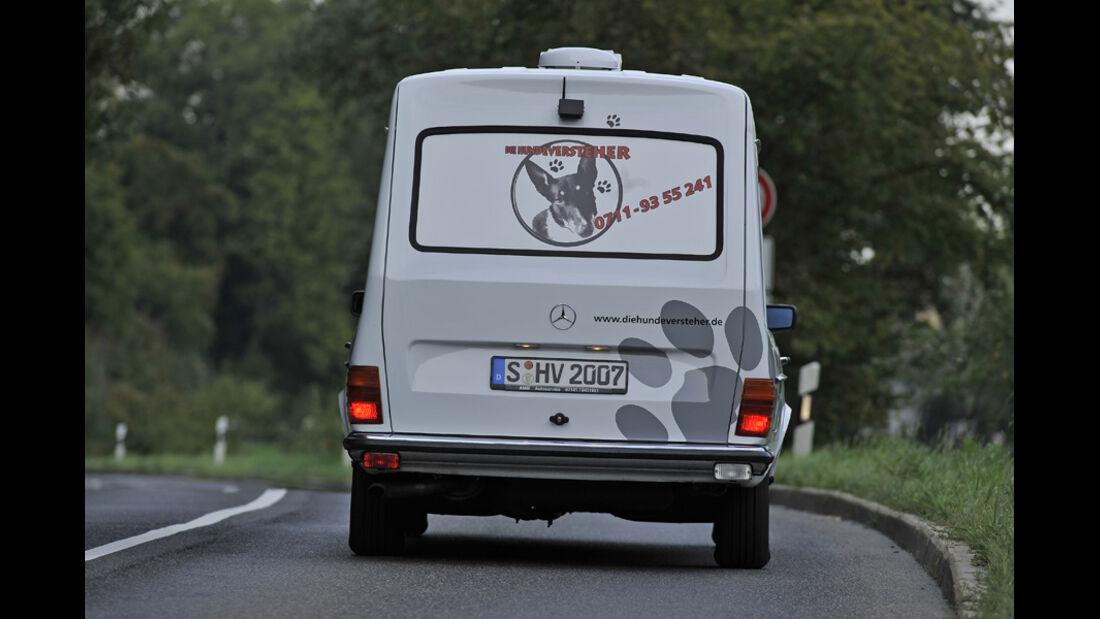 Mercedes VF123 E28 Binz KTW, Heck