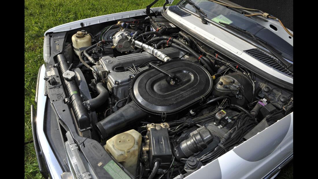 Mercedes VF123 E28 Binz KTW, Motor