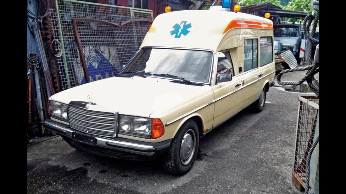 Mercedes VF123 E28 Binz KTW, Rettungswagen