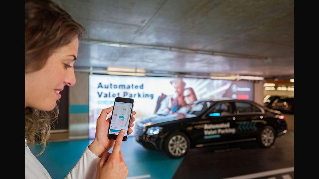 Mercedes Valet Parking