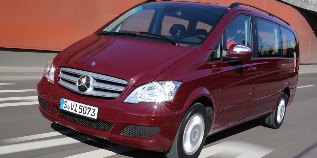 Mercedes Viano 2.0 CDI, Frontansicht