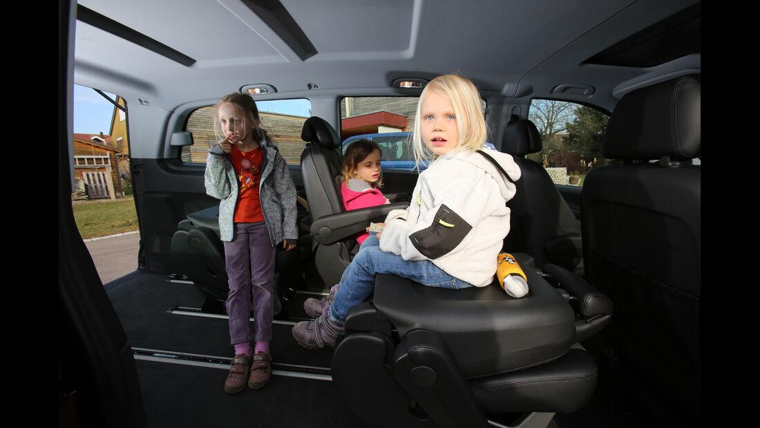 Mercedes Viano 2.0 CDI, Innenraum, Kinder