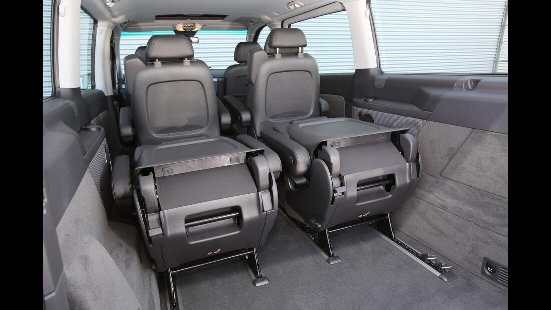 Mercedes Viano 2.0 CDI, Rücksitze, Zusammengeklappt