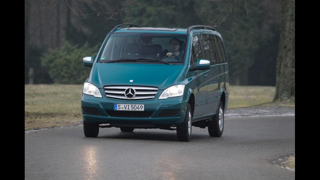 Mercedes Viano 2.2 CDI 4matic, Frontansicht