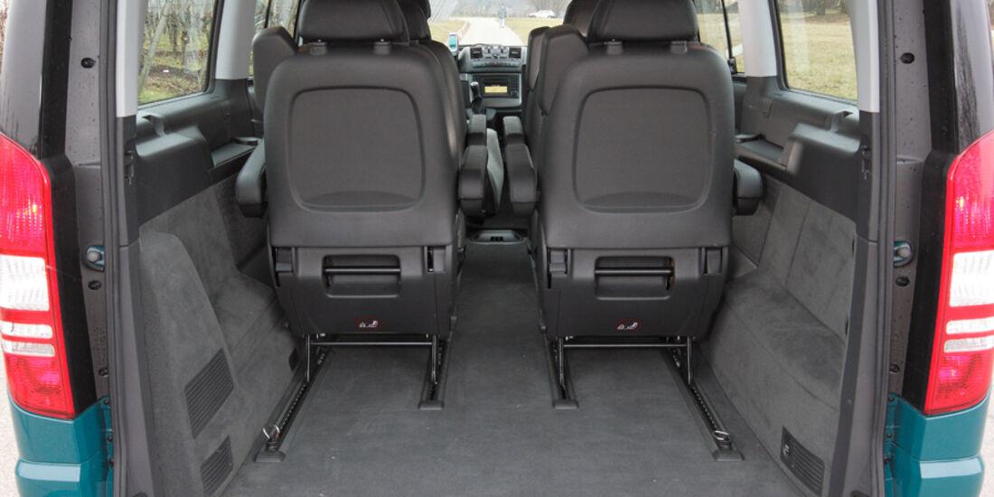 Mercedes Viano 2.2 CDI 4matic, Kofferraum