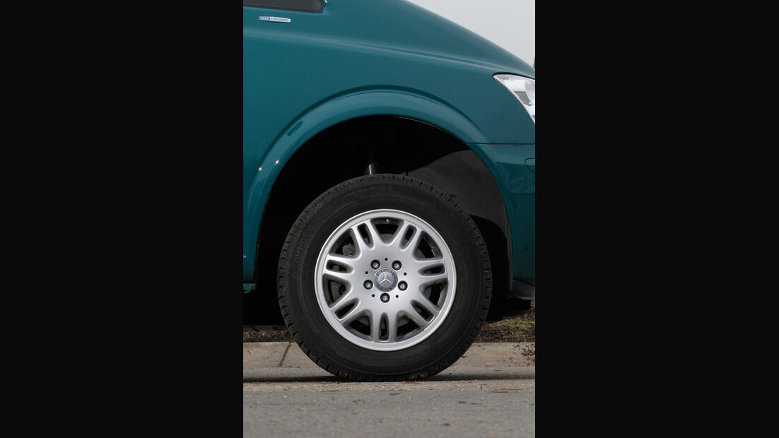 Mercedes Viano 2.2 CDI 4matic, Rad, Felge