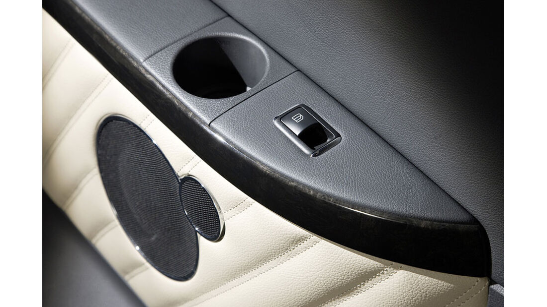 Mercedes Viano 3.0 CDI, Interieur, Detail