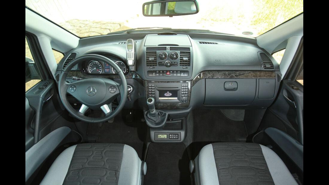 Mercedes Viano Marco Polo, Cockpit, Lenkrad