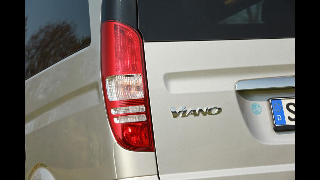 Mercedes Viano Marco Polo, Detail, Schriftzug, Emblem