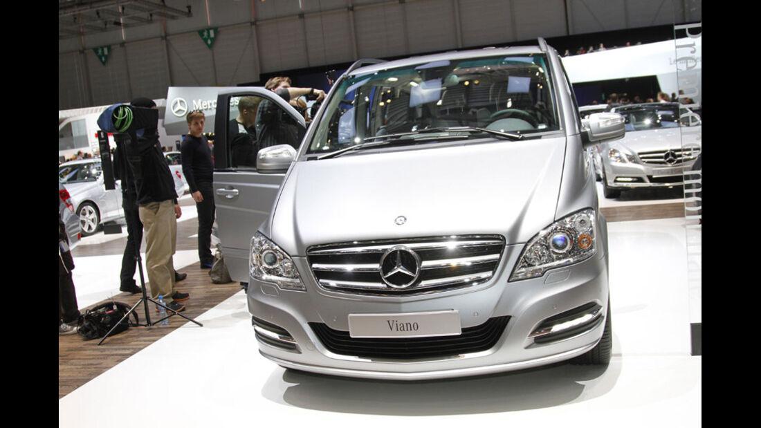 Mercedes Viano Pearl Auto-Salon Genf 2012