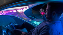 Mercedes Vision AVTR Mitfahrt