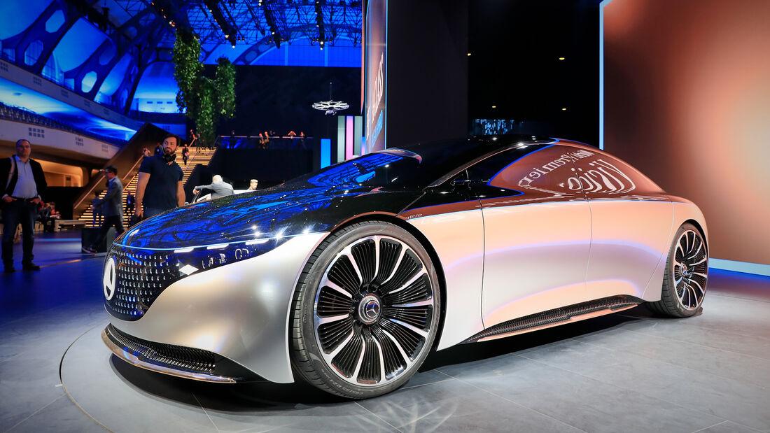 Mercedes Vision EQS, IAA 2019