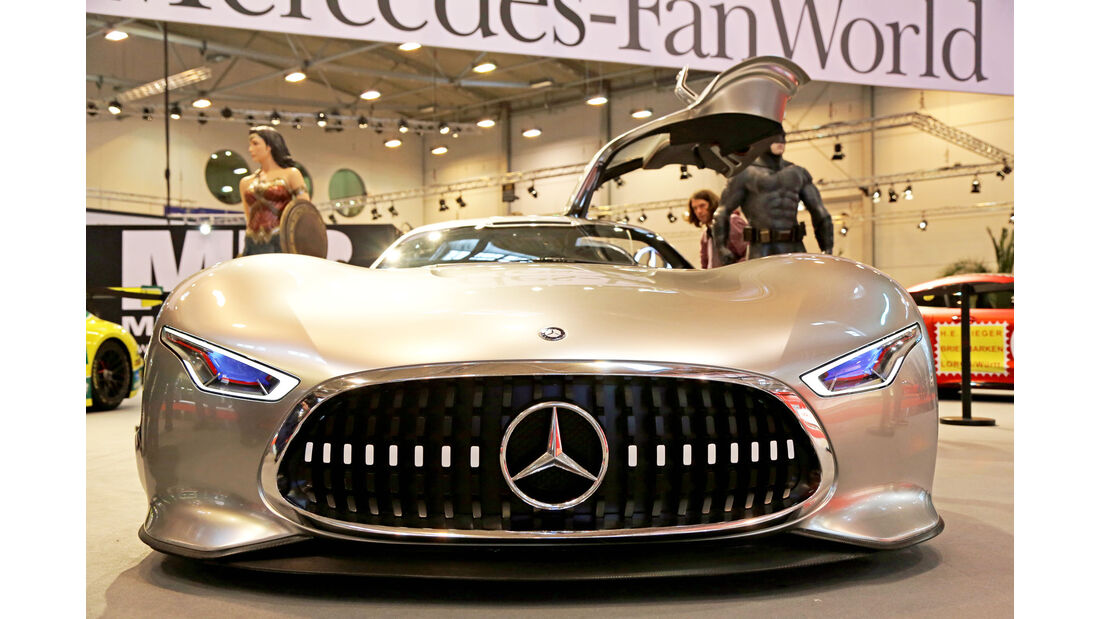 Mercedes Vision Gran Turismo, Essen Motor Show 2017