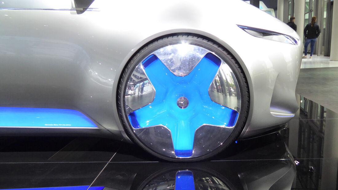 Mercedes Vision Tokyo - Felgen - IAA 2017