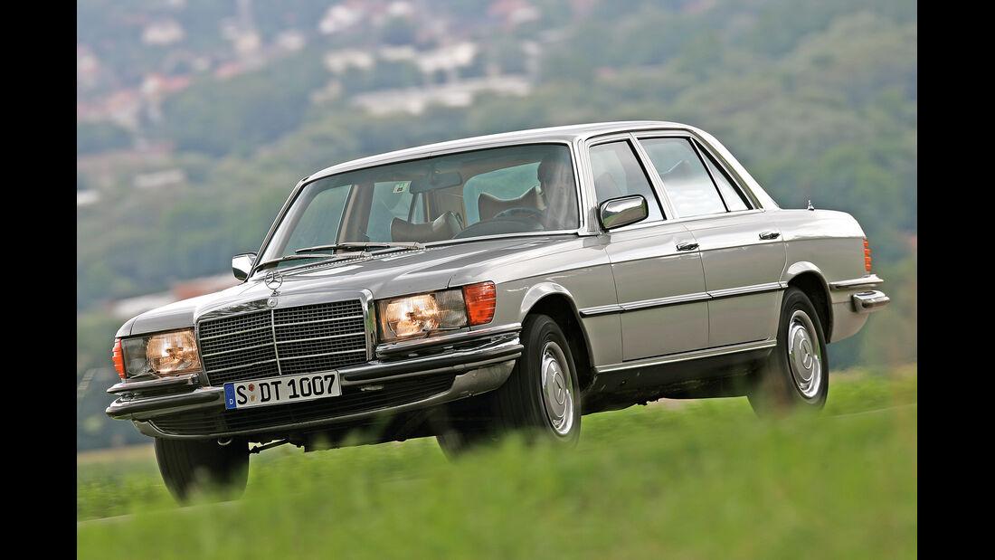 Mercedes W 116 , Seitenansicht