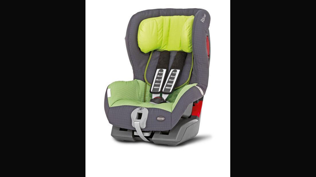 Mercedes W 123, Babysitz, Kindersitz