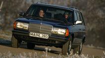 Mercedes W 123, Frontansicht