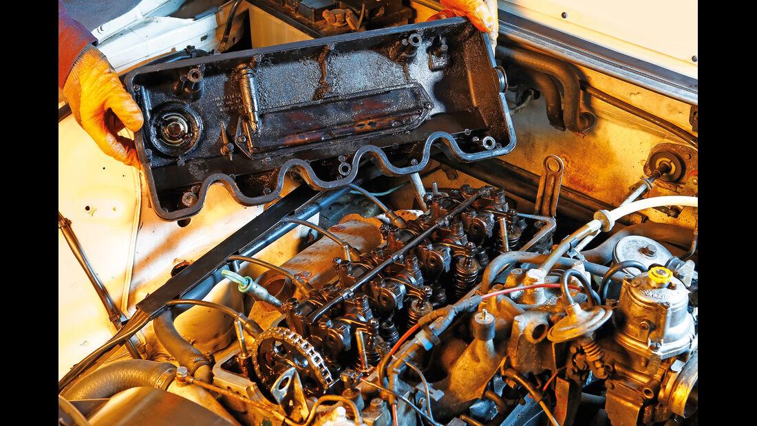 Mercedes W 123, Motor, Ölschlamm