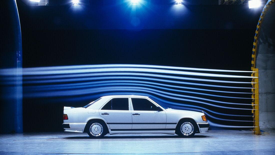 Mercedes W 124 LO Rad Lorinser Windkanal