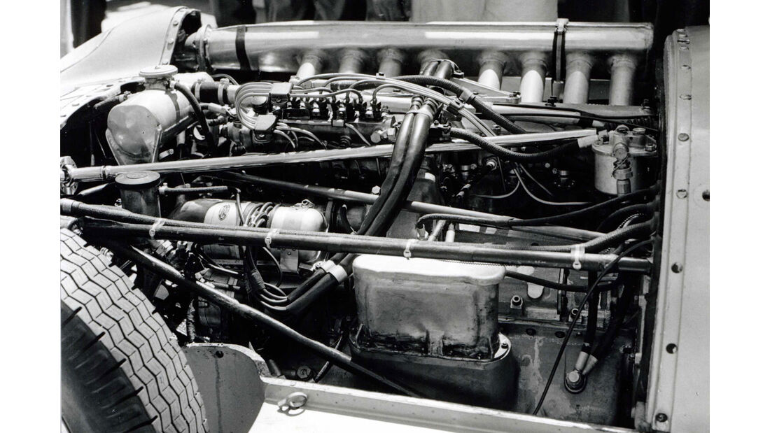 Mercedes W 196 - Achtzylinder - Rennwagen