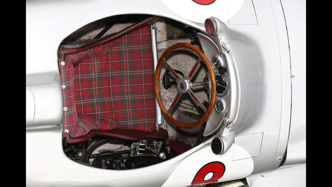 Mercedes W 196 - Cockpit - Rennwagen