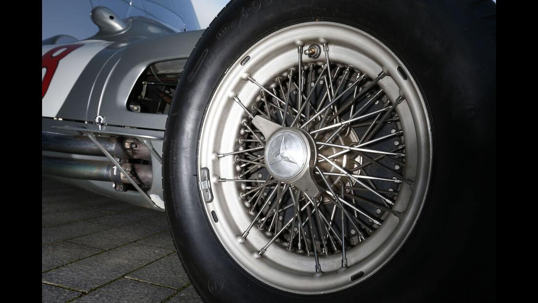 Mercedes W 196 - Felge - Reifen - Rennwagen