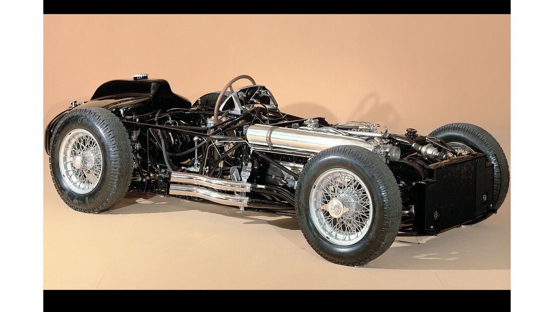 Mercedes W 196 - Rohrrahmen - Rennwagen