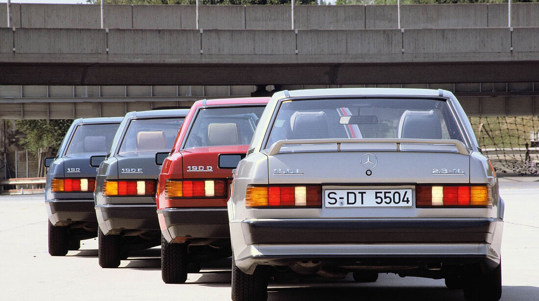 Mercedes W 201 190 E 2,3-16, 190 E, 190 D, 190
